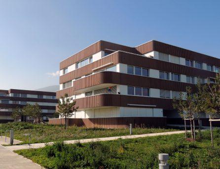 Parc résidentiel la Baconnière à Boudry Bernasconi