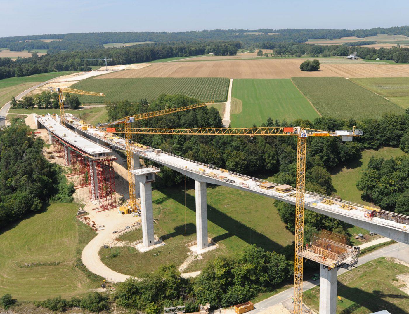 Viaduc du Creugenat Courtedoux Jura