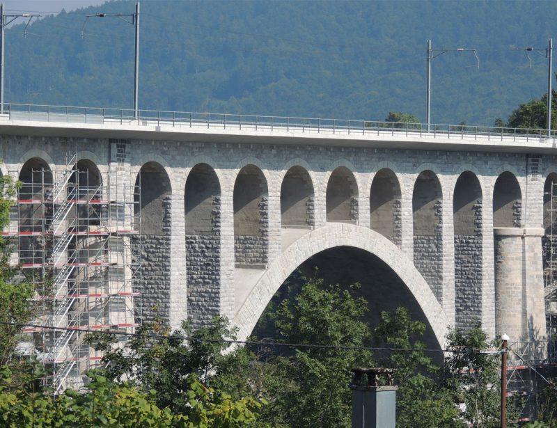 Bernasconi, assainissement du Pont de Day, Vallorbe