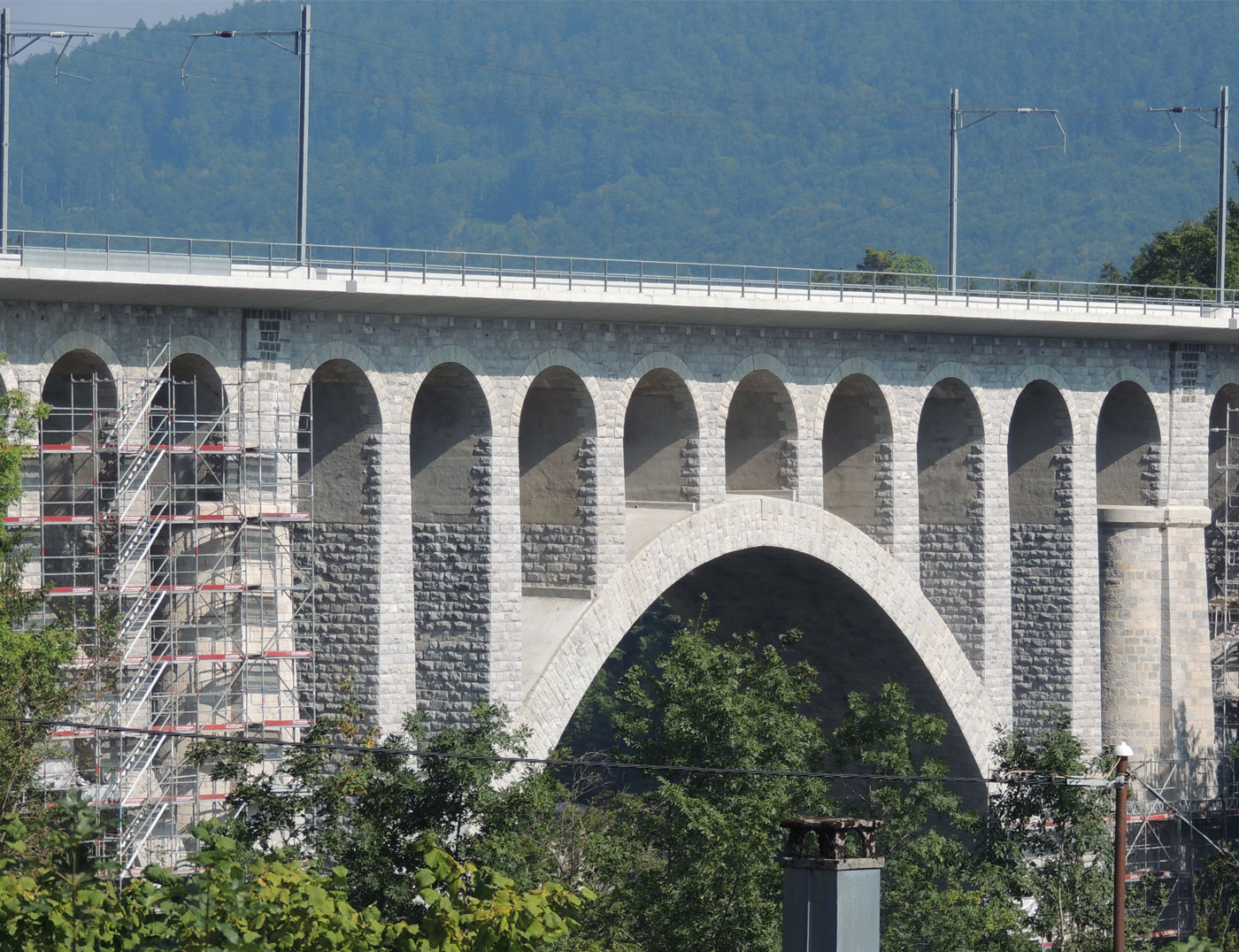 Bernasconi, assainissement du Pont de Day, Vallorbe
